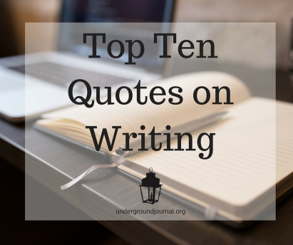 Top TenQuotes onWriting